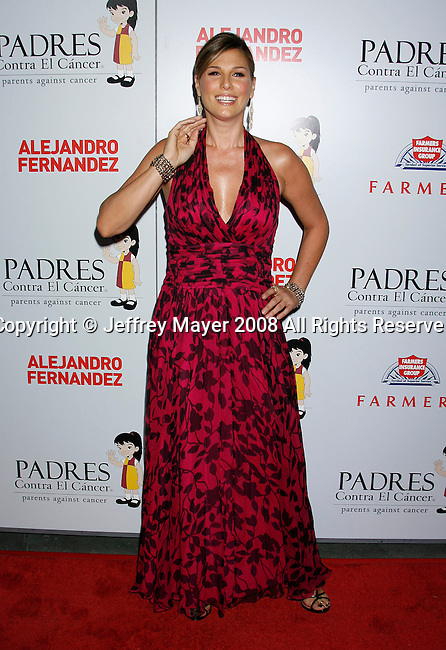 """HOLLYWOOD, CA. - October 07: Actress Daisy Fuentes arrives at the Padres Contra El Cancer's 8th Annual """"El Sueno De Esperanza"""" Benefit Gala at the Hollywood & Highland Center on October 7, 2008 in Hollywood, California."""