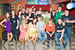 Key to the Door - Alan Kelly from Ardfert, seated centre having a ball with friends and family at his 21st birthday bash held in McElligot's Bar, Ardfert on Saturday night..