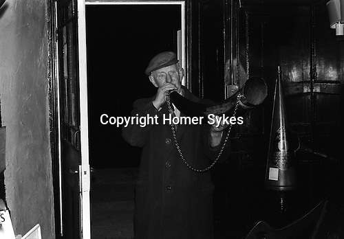 Bainbridge Horn Blower Bainbridge Yorkshire Uk 1974<br />