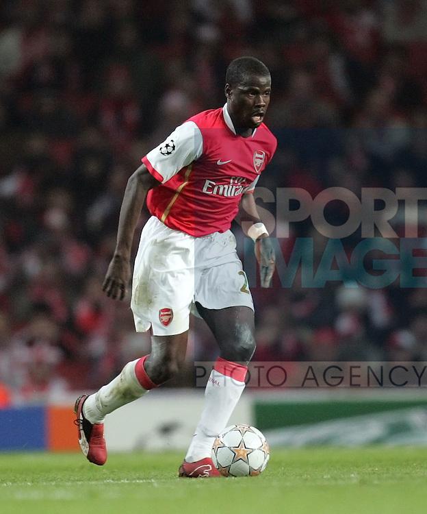Arsenal's Emmanuel Eboue