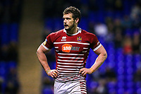 Picture by Alex Whitehead/SWpix.com - 09/03/2017 - Rugby League - Betfred Super League - Warrington Wolves v Wigan Warriors - Halliwell Jones Stadium, Warrington, England - Wigan captain Sean O'Loughlin.