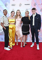 LOS ANGELES, CA - APRIL 6: Maddie Ziegler, Mackenzie Ziegler, Melissa Gisoni, Guests, at the Ending Youth Homelessness: A Benefit For My Friend's Place at The Hollywood Palladium in Los Angeles, California on April 6, 2019.   <br /> CAP/MPI/SAD<br /> &copy;SAD/MPI/Capital Pictures
