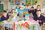 BOOK FAIR: Pupils at Ballincrossig national school, Ballyduff which will host a book fair at the school >>>> Owen to finish .....front l-r: Keith Cotter, Aoibhe Reilly, Adam Walsh, Nathan McAuliffe, Dylan Murphy, Katie Maloney, Diarmuid O'Connor. Back l-r: Jack Lopez Phelan, Gary Carey, Oran O'Connell.