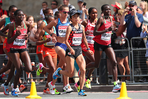 Mao Kiyota (JPN), <br /> AUGUST 6, 2017 - Athletics : <br /> IAAF World Championships London 2017 <br /> Women's Marathon <br /> in London, UK. <br /> (Photo by YUTAKA/AFLO SPORT)