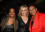 Rhonda Ross - Amy Carlson - Tamara Tunie - Hearts of Gold annual All That Glitters Gala - 24 years of support to New York City's homeless mothers and their cildren - (VIP Reception - Silent Auction) was held on November 7, 2018 at Noir et Blanc and the 40/40 Club in New York City, New York.  (Photo by Sue Coflin/Max Photo)