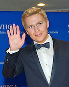 Ronan Farrow arrives for the 2015 White House Correspondents Association Annual Dinner at the Washington Hilton Hotel on Saturday, April 25, 2015.<br /> Credit: Ron Sachs / CNP