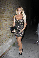 LONDON, ENGLAND - OCTOBER 05 :  Lucy Zara attends the UKAP Awards 2018, at Pulse club on October 05, 2018 in London, England.<br /> CAP/AH<br /> &copy;AH/Capital Pictures