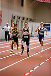 NAPERVILLE, IL - MARCH 11: AJ Digby of Mount Union competes in the 400 meter dash Division III Men's and Women's Indoor Track and Field Championship held at the Res/Rec Center on the North Central College campus on March 11, 2017 in Naperville, Illinois. (Photo by Steve Woltmann/NCAA Photos via Getty Images)