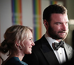 Naomi Watts & Leiv Schreiber attending the 35th Kennedy Center Honors at Kennedy Center in Washington, D.C. on December 2, 2012