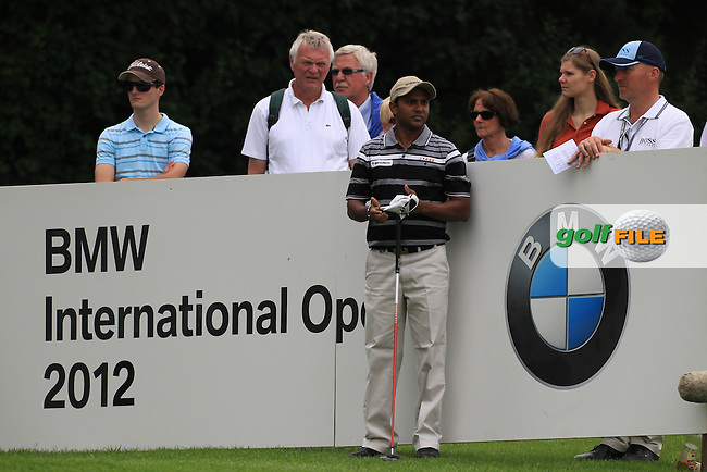 SSP Chowrasia (IND) during round one of the BMW International Open, Golf Club Gut Lärchenhof,Cologne,Germany. 21/6/12.Picture Fran Caffrey www.golffile.ie