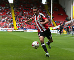 Danny Lafferty of Sheffield Utd during the League One match at Bramall Lane Stadium, Sheffield. Picture date: September 17th, 2016. Pic Simon Bellis/Sportimage