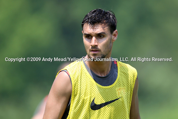 01 June 2011: Chris Wondolowski. The United States Men's National Team held a training session at Koka Booth Stadium in WakeMed Soccer Park in Cary, North Carolina as part of their preparations for the 2011 CONCACAF Gold Cup.