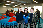 Stacey O'Sullivan, Leah O'Sullivan and Saoirse O'Connor, Coláiste na Sceilge, Cahersiveen, attending IT Tralee Open Day on Friday morning last.