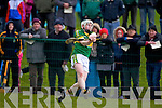 Daniel Collins Kerry in action against  Kildare in the National Hurling League at Abbeydorney on Sunday.