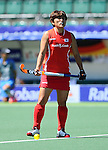 The Hague, Netherlands, June 13: Mihyun Park #10 of Korea looks on before the field hockey placement match (Women - Place 7th/8th) between Korea and Germany on June 13, 2014 during the World Cup 2014 at Kyocera Stadium in The Hague, Netherlands. Final score 4-2 (2-0)  (Photo by Dirk Markgraf / www.265-images.com) *** Local caption ***