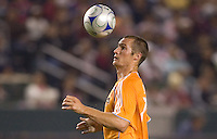 Houston's Nate Jaqua. The Houston Dynamo and Chivas USA played to a 1-1 tie at Home Depot Center stadium in Carson, California on Saturday October 25, 2008. Photo by Michael Janosz/isiphotos.com
