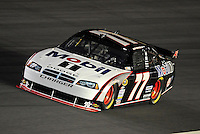 Oct. 15, 2009; Concord, NC, USA; NASCAR Sprint Cup Series driver Sam Hornish Jr during qualifying for the Banking 500 at Lowes Motor Speedway. Mandatory Credit: Mark J. Rebilas-