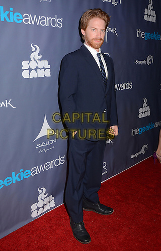 Seth Green<br /> The first annual Geekie Awards at The Avalon Hollywood in Hollywood, CA., USA.  <br /> August 18th, 2013<br /> full length beard facial hair black suit  <br /> CAP/ADM/BT<br /> ©Birdie Thompson/AdMedia/Capital Pictures