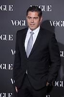 Jorge Vazquez attends 2014 Vogue Jewelry Awards in Madrid, Spain. November 18, 2014. (ALTERPHOTOS/Victor Blanco) /NortePhoto<br /> NortePhoto.com