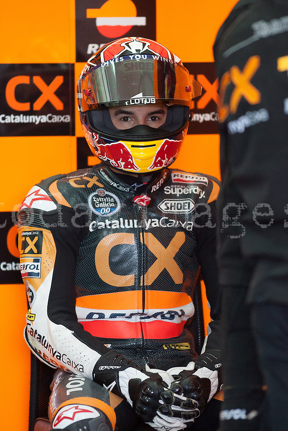 Marc Marquez time of concentration