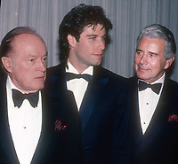 #BobHope #JohnTravolta #JohnForsythe 1982<br /> Photo By Adam Scull/PHOTOlink.net