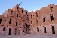 Ksar Ouled Soultane medieval grain storage facility, Tunisia, Tataouine