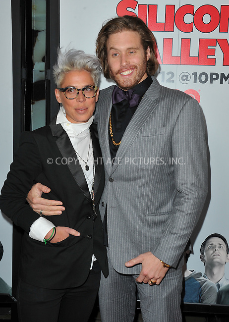 WWW.ACEPIXS.COM<br /> <br /> April 2 2015, LA<br /> <br /> Actor T.J. Miller (R) arriving at the premiere of HBO's 'Silicon Valley' 2nd Season at the El Capitan Theatre on April 2, 2015 in Hollywood, California. <br /> <br /> <br /> By Line: Peter West/ACE Pictures<br /> <br /> <br /> ACE Pictures, Inc.<br /> tel: 646 769 0430<br /> Email: info@acepixs.com<br /> www.acepixs.com