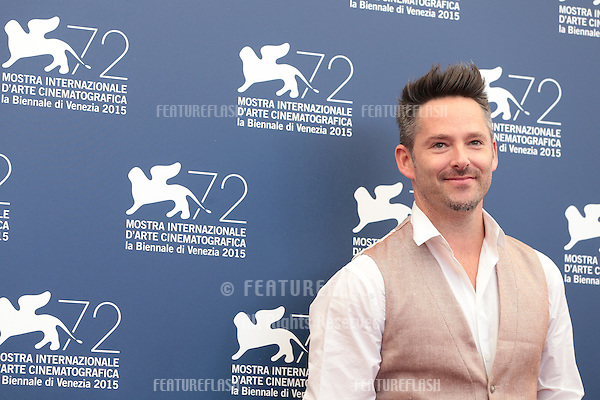 Scott Cooper at the photocall for Black Mass at the 2015 Venice Film Festival.<br /> September 4, 2015  Venice, Italy<br /> Picture: Kristina Afanasyeva / Featureflash