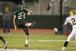 Torrance, CA 10/06/11 - Kevin Haworth (South Torrance #24) in action during the Peninsula vs South Varsity football game.