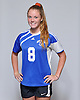 Dana Scheriff of North Babylon poses for a portrait during the Newsday 2015 varsity girls' soccer season preview photo shoot at company headquarters on Thursday, September 10, 2015.<br /> <br /> James Escher
