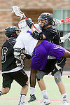 Orange, CA 05/16/15 - Colin MacIlvennie (Colorado #6), Kris Holland (Grand Canyon #1) and unidentified Colorado player(s) in action during the 2015 MCLA Division I Championship game between Colorado and Grand Canyon, at Chapman University in Orange, California.