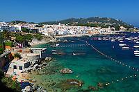 Spain, Catalonia, Costa Brava, Calella de Palafrugell and Cap de St. Sebastia | Spanien, Katalonien, Costa Brava, Calella de Palafrugell am Cap de St. Sebastia