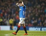 05.12.2018 Rangers v Aberdeen: Ryan Jack dejection