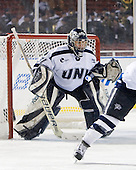 Sydney Arbelbide (NU - 31) - The University of New Hampshire Wildcats defeated the Northeastern University Huskies 5-3 (EN) on Friday, January 8, 2010, at Fenway Park in Boston, Massachusetts as part of the Sun Life Frozen Fenway doubleheader.