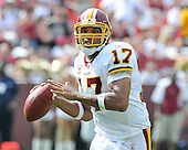 Landover, MD - September 14, 2008 --  Washington Redskins quarterback Jason Campbell (17) looks to pass in the fourth quarter against the New Orleans Saints at FedEx Field in Landover, Maryland on Sunday, September 14, 2008..Credit: Ron Sachs / CNP.(RESTRICTION: NO New York or New Jersey Newspapers or newspapers within a 75 mile radius of New York City)