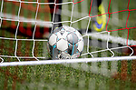 Ball liegt im Netz,<br /><br />Fussball 1. Bundesliga, 33.Spieltag, Fortuna Duesseldorf (D) -  FC Augsburg (A), am 20.06.2020 in Duesseldorf/ Deutschland. <br /><br />Foto: AnkeWaelischmiller/Sven Simon/ Pool/ via Meuter/Nordphoto<br /><br /># Editorial use only #<br /># DFL regulations prohibit any use of photographs as image sequences and/or quasi-video #<br /># National and international news- agencies out #