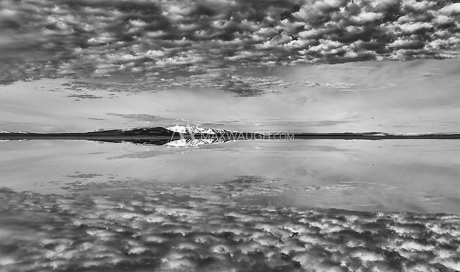 On a sunny spring day, Yellowstone Lake can present some wonderful landscape photography opportunities.