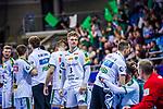 Franz SEMPER (#3 SC DHfK Leipzig) \ beim Spiel in der Handball Bundesliga, SG BBM Bietigheim - SC DHfK Leipzig.<br /> <br /> Foto &copy; PIX-Sportfotos *** Foto ist honorarpflichtig! *** Auf Anfrage in hoeherer Qualitaet/Aufloesung. Belegexemplar erbeten. Veroeffentlichung ausschliesslich fuer journalistisch-publizistische Zwecke. For editorial use only.