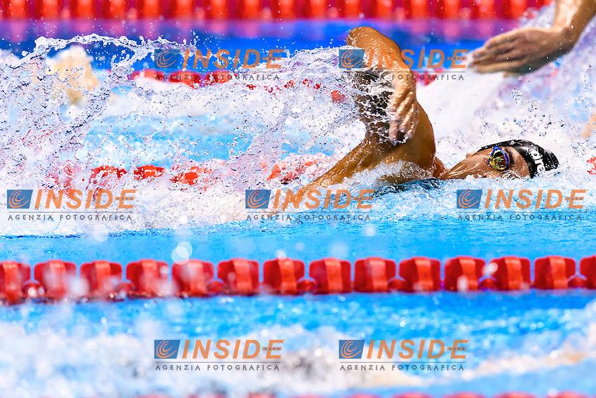 DETTI Gabriele ITA <br /> 400m Freestyle Men <br /> Rio de Janeiro 06-08-2016 Olympic Aquatics Stadium <br /> Swimming Nuoto <br /> Foto Andrea Staccioli/Deepbluemedia/Insidefoto