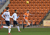 04/12/2018 FA Youth Cup 3rd Round Blackpool v Derby County<br /> <br /> Will Avon clears