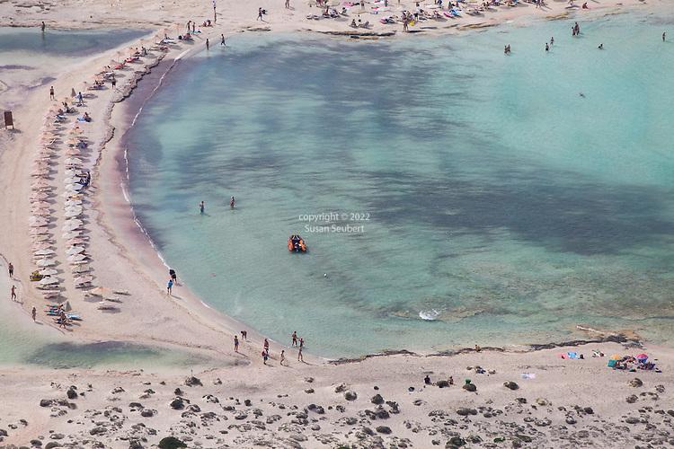 Balos, Crete.  Balos Beach on the Gramvousa Peninsula