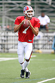July 30th 2008:  Quarterback J.P. Losman (7) of the Buffalo Bills during the sixth day of training camp at St. John Fisher College in Rochester, NY.  Photo Copyright Mike Janes Photography