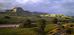 Farmland near Te Mata Peak. Hawkes Bay Region. New Zealand.