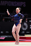 Gymnastics World Championships Womens Team Finals 27.10.15. Great Britain in action. Amy Tinkler .Amy Tinkler.