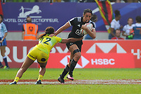 Sarah Goss of New Zealand  during the Final women match between New Zealand and Australia at the HSBC Paris Sevens, stage of the Rugby Sevens World Series at Stade Jean Bouin on June 10, 2018 in Paris, France. (Photo by Sandra Ruhaut/Icon Sport)