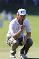 Charley Hoffman (USA) on the 14th green during Thursday's Round 1 of the 2017 PGA Championship held at Quail Hollow Golf Club, Charlotte, North Carolina, USA. 10th August 2017.<br /> Picture: Eoin Clarke | Golffile<br /> <br /> <br /> All photos usage must carry mandatory copyright credit (&copy; Golffile | Eoin Clarke)