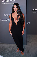 NEW YORK, NY - FEBRUARY 6: Kim Kardashian West arriving at the 21st annual amfAR Gala New York benefit for AIDS research during New York Fashion Week at Cipriani Wall Street in New York City on February 6, 2019. <br /> CAP/MPI99<br /> ©MPI99/Capital Pictures