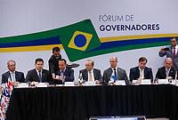 BRASILIA, DF, 20.02.2019 - GOVERNADORES-FORUM    Fórum de Governadores, no Centro Internacional de Convenções do Brasil, nesta quarta, 20.(Foto:Ed Ferreira/Brazil Photo Press)