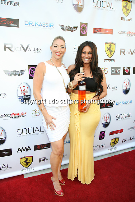 Presto Wine USA llc., Lauren Pacailler and Jerseylicious' Tracy DiMarco Metropolitan Bikini Fashion Weekend 2013 Held at BOA Sponsored by Social Magazine, Maserati and Ferrari, Hoboken NJ