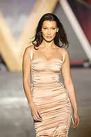 Bella Hadid walks the Runway at Fashion for Relief Cannes 2018 during the 71st annual Cannes Film Festival at Aeroport Cannes Mandelieu on May 13, 2018 in Cannes, France.<br /> CAP/GOL<br /> &copy;GOL/Capital Pictures